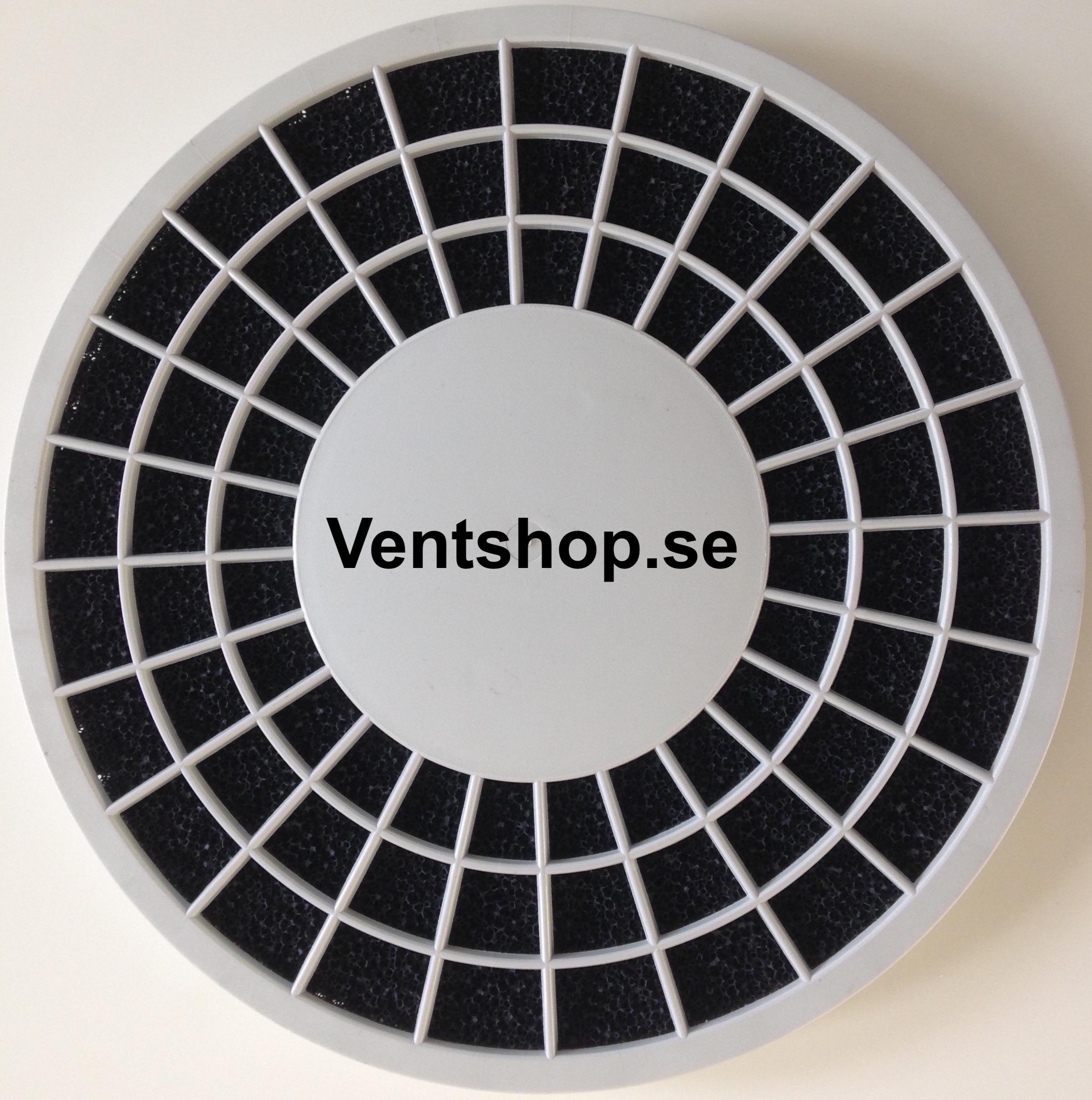 Filtret passar i filterhållare Artnr: 3567. (Tidigare modell av filterhållare var tillverkad av genomskinlig plast)