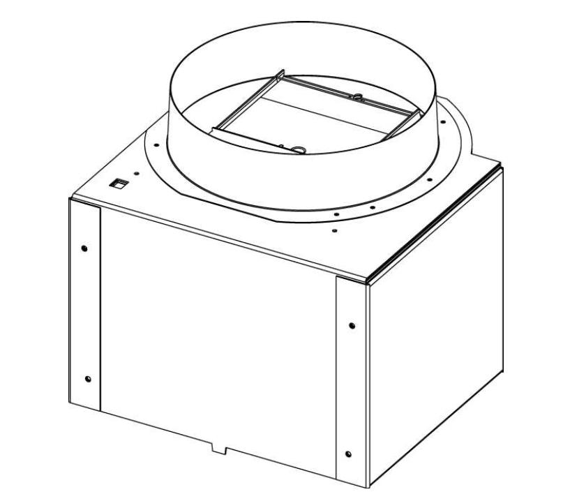 Grundflödeslucka M05 - Spjäll Franke/Futurum Tender, Cylinda Trinda