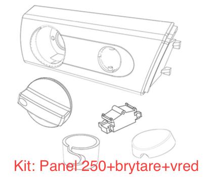 Panel Franke, Futurum, Cylinda, M.fl 250 vit